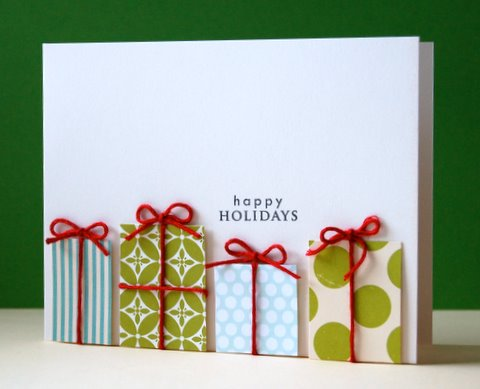 24 Creative and Unique DIY Christmas Cards (15)