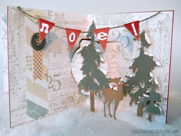 24 Creative and Unique DIY Christmas Cards (23)