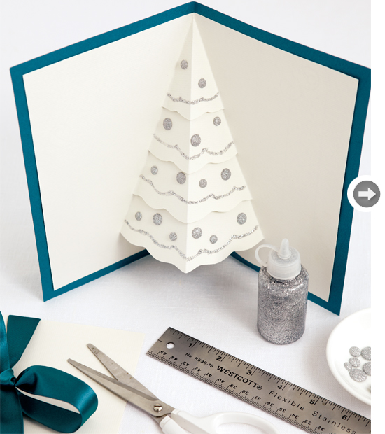 24 Creative and Unique DIY Christmas Cards (8)