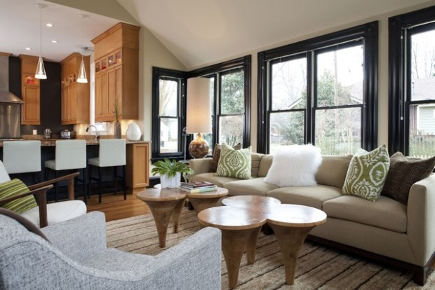 20 Modern Living Room Design Ideas With Unique Coffee