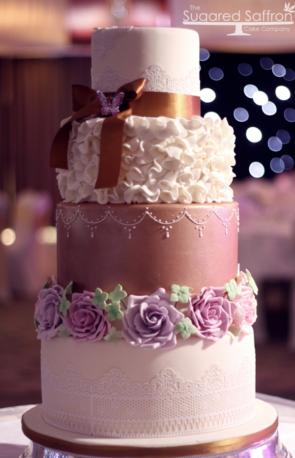 25 Amazing Wedding Cake Decoration Ideas for Your Special Day (14)