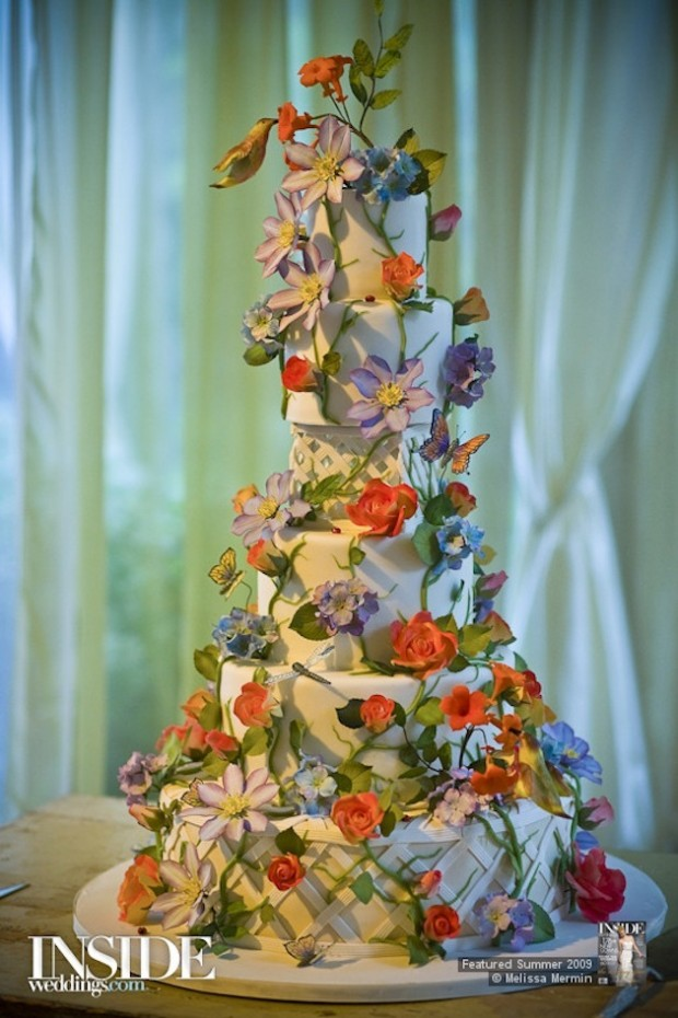 25 Amazing Wedding Cake Decoration Ideas for Your Special Day (22)