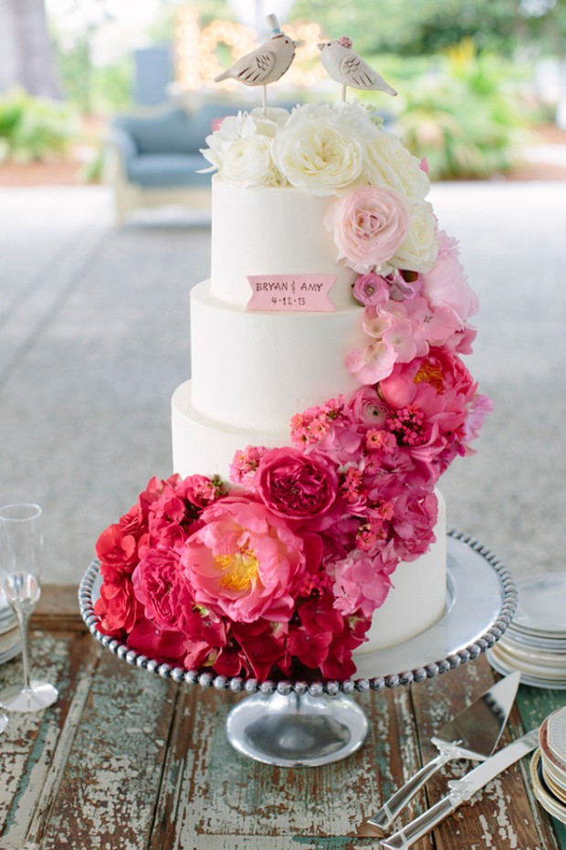 25 Amazing Wedding Cake Decoration Ideas for Your Special Day (7)