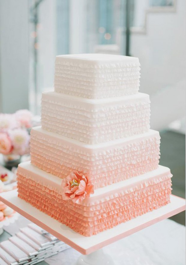 25 Amazing Wedding Cake Decoration Ideas for Your Special Day (9)