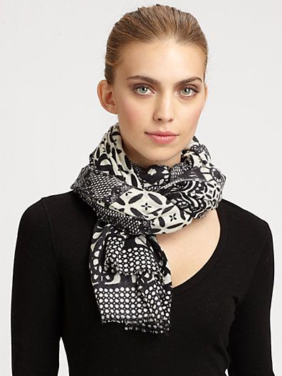 16 Cute Scarves for Cold Days