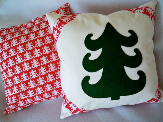 26 Awesome Handmade Christmas Pillows and Covers (23)
