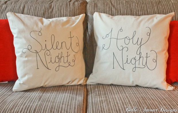 26 Awesome Handmade Christmas Pillows and Covers (6)