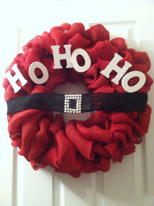30 Beautiful And Creative Handmade Christmas Wreaths