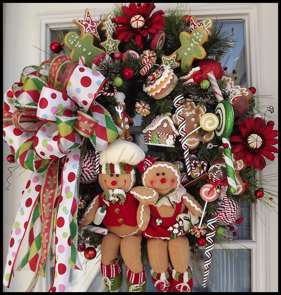 30 Beautiful And Creative Handmade Christmas Wreaths ...