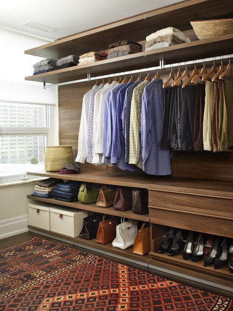 How To Organize Your Closet Walk In Clothes