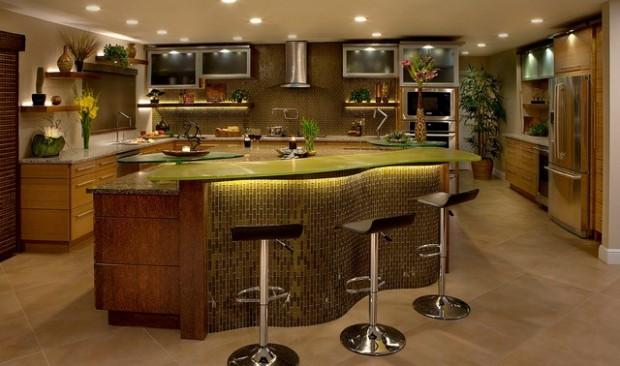 18 amazing kitchen bar design ideas style motivation - Bamboo bar design ideas ...