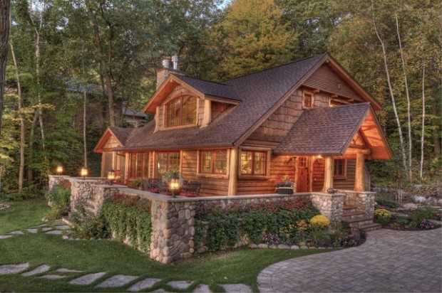 20 amazing rustic house design ideas style motivation for Rustic style homes