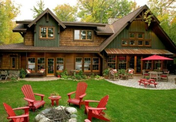 20 Amazing Rustic House Design Ideas - rustic house, rustic, houses, house, design