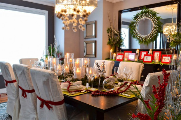 19 Gorgeous Christmas Table Decoration Ideas & 19 Gorgeous Christmas Table Decoration Ideas - Style Motivation