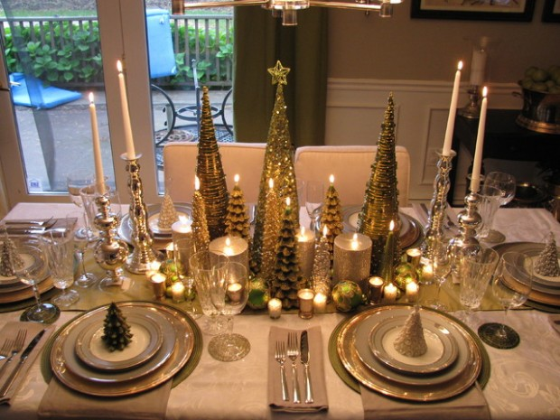 19 Gorgeous Christmas Table Decoration Ideas