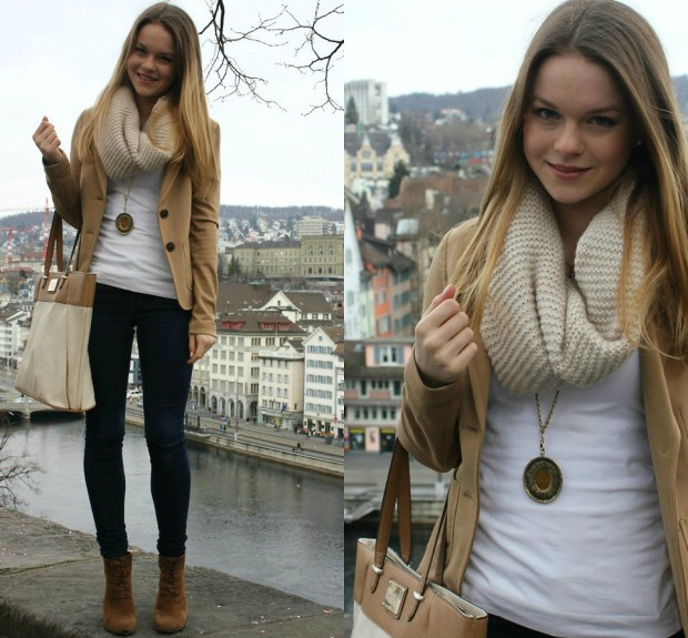 INFINITY SCARF OUTFITS for infinite joy in the cold days (7)