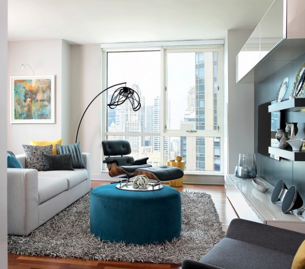 Modern Living Room Ideas Small Condo: 20 Modern Condo Design Ideas