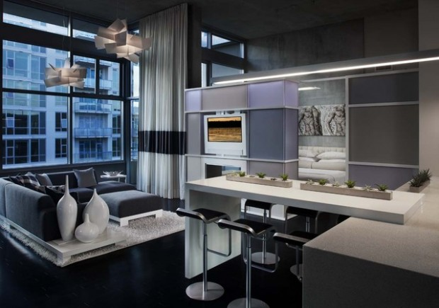 Lovely 20 Modern Condo Design Ideas
