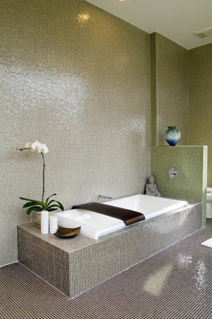 Peaceful Zen Bathroom Design Ideas for Relaxation in Your Home (10)