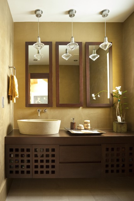 Peaceful Zen Bathroom Design Ideas for Relaxation in Your Home (12)