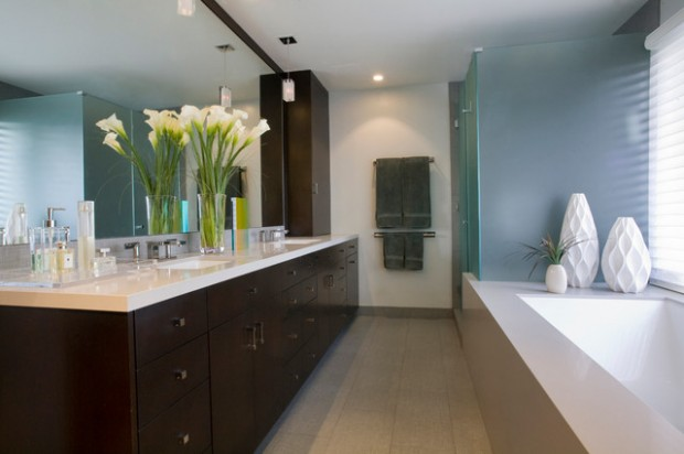 Peaceful Zen Bathroom Design Ideas for Relaxation in Your Home (14)