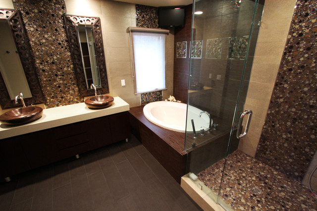 Peaceful Zen Bathroom Design Ideas for Relaxation in Your Home (18)