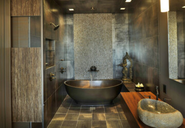 21 Peaceful Zen Bathroom Design Ideas for Relaxation in Your Home - Zen bathroom design, Zen bathroom, bathroom ideas, bathroom design, bathroom