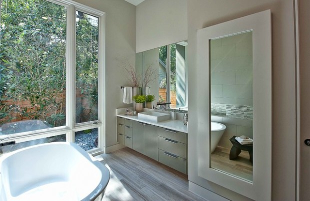 Peaceful Zen Bathroom Design Ideas for Relaxation in Your Home (3)