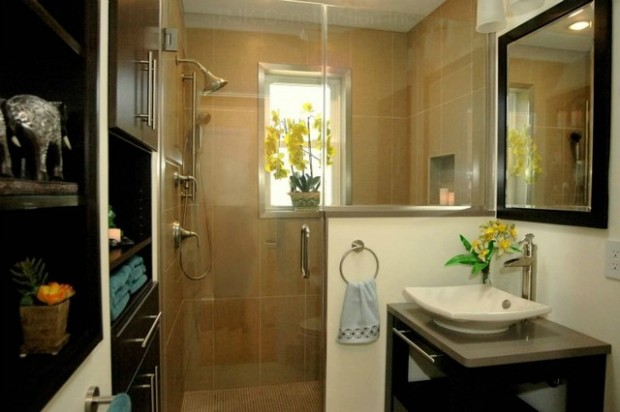 Peaceful Zen Bathroom Design Ideas for Relaxation in Your Home (9)