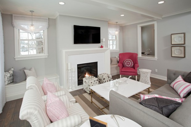 Pink Details for Gorgeous Chic Interior Decor (1)