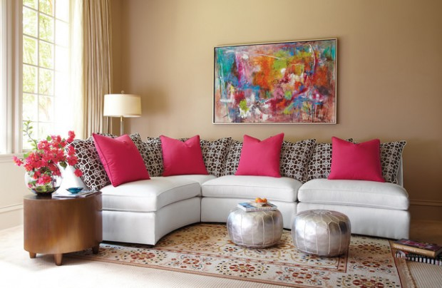 Pink Details for Gorgeous Chic Interior Decor (13)