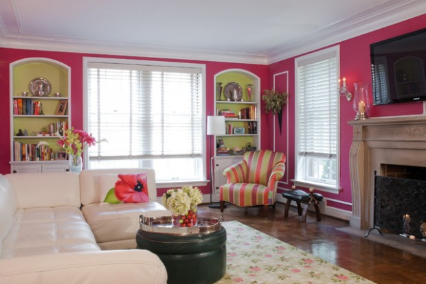 Pink Details for Gorgeous Chic Interior Decor (19)