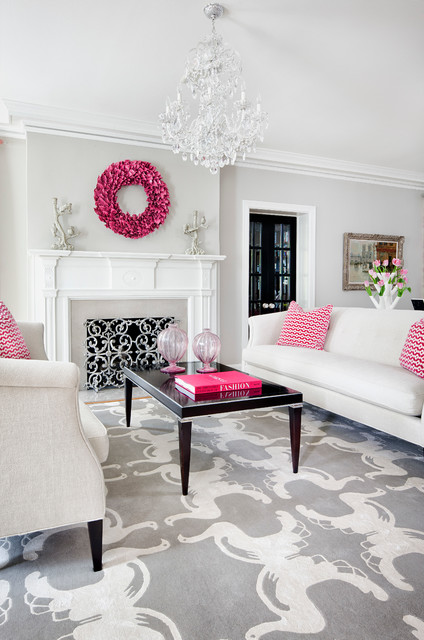 Pink Details for Gorgeous Chic Interior Decor (22)