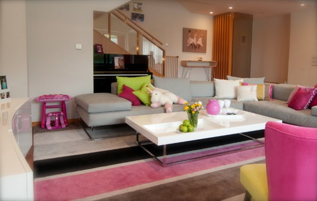 Pink Details for Gorgeous Chic Interior Decor (3)