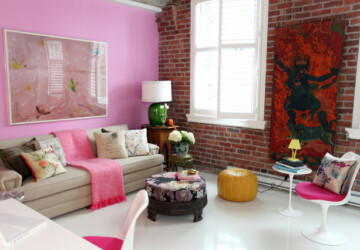 Pink Details for Gorgeous Chic Interior Decor - pink interior, Pink, interior design, interior decorations
