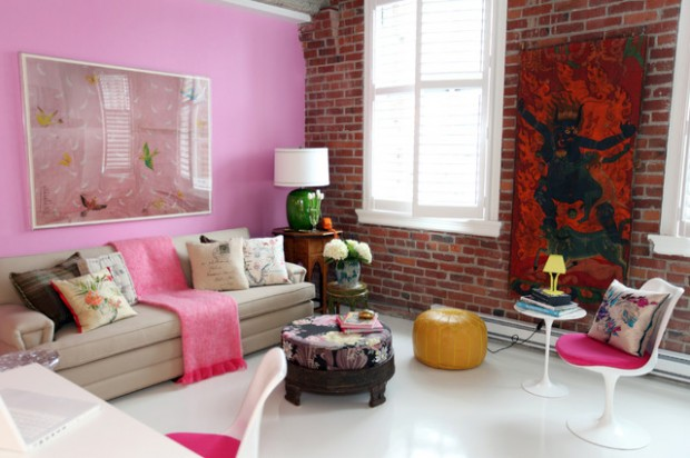 Pink Details for Gorgeous Chic Interior Decor (6)