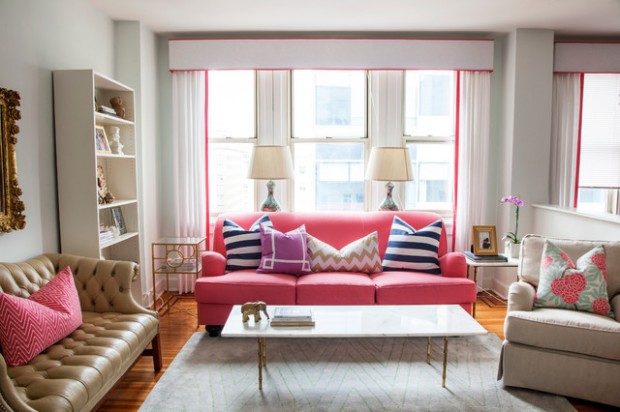 Pink Details for Gorgeous Chic Interior Decor