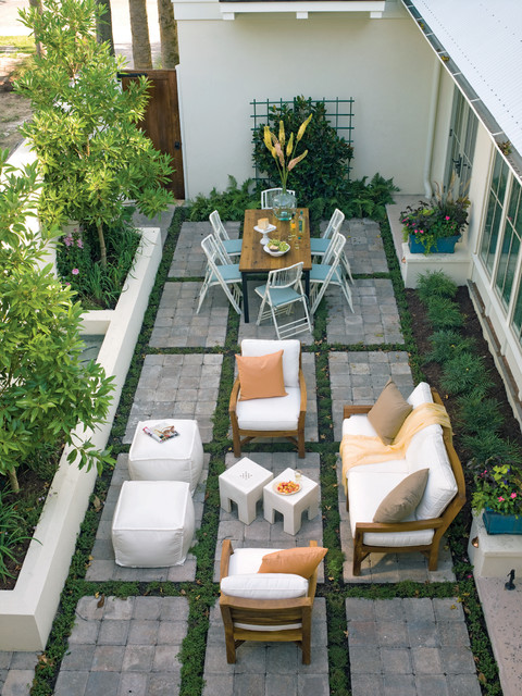 19 smart design ideas for small backyards style motivation for Terrasse english