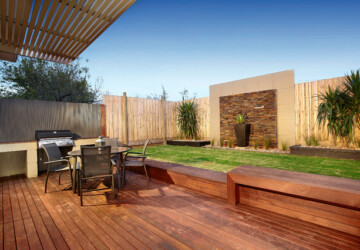 19 Smart Design Ideas for Small Backyards - small backyard, outdoors, backyard fence, backyard design, backyard
