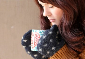 16 DIY Winter Accessories To Keep You Warm - diy winter accessories, diy winter, diy accessories