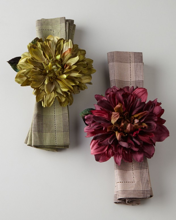 20 Festive Napkin Ring Ideas for Holiday Table Decoration