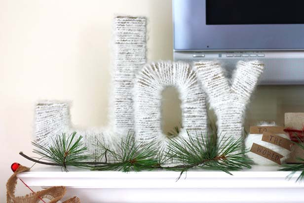 14 amazing diy rustic christmas decorations - Rustic Christmas Decorations
