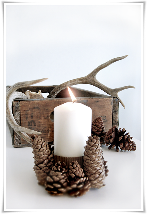 Rustic Lodge Christmas Decorating Ideas Merry