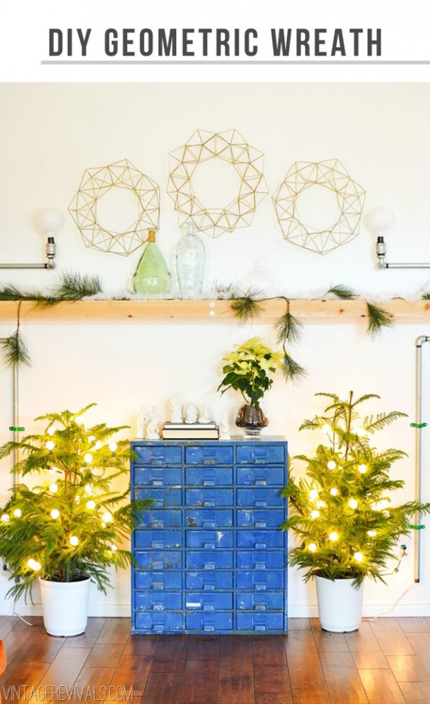 15 Amazing DIY Rustic Christmas Decorations (12)