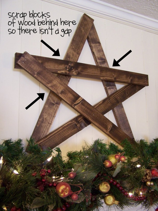 14 amazing diy rustic christmas decorations - Rustic Christmas Decor