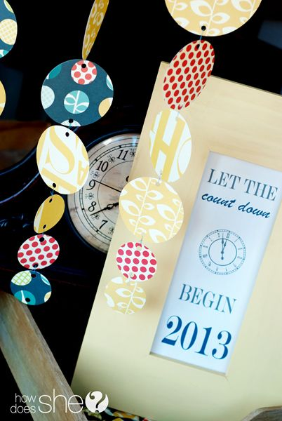 15 Amazing and Easy DIY New Year's Eve Party Decorations