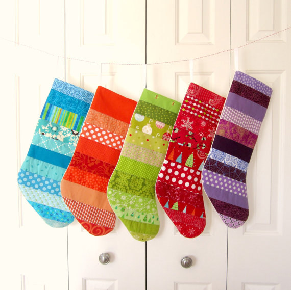 15 Beautiful Handmade Christmas Stocking Designs Style