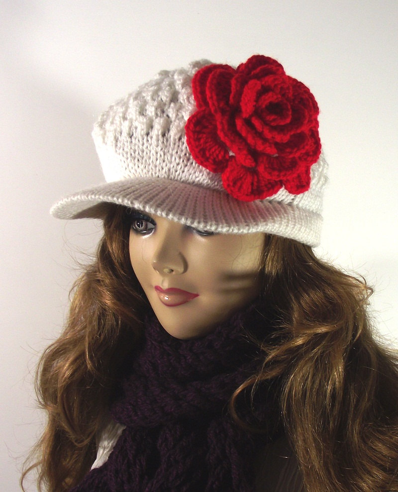 15 Beautiful Handmade Warm Winter Hats Style Motivation