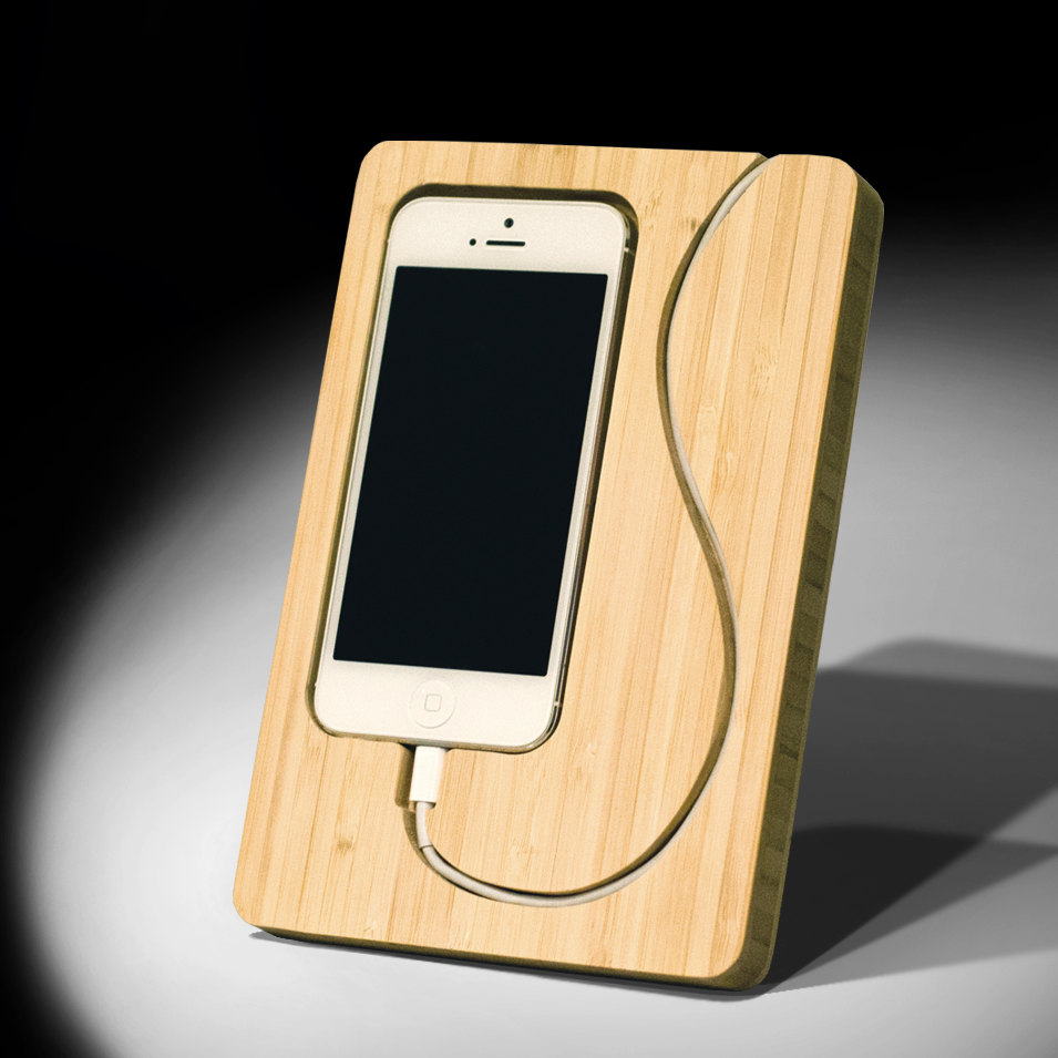 15 creative handmade iphone and ipad stands style motivation. Black Bedroom Furniture Sets. Home Design Ideas