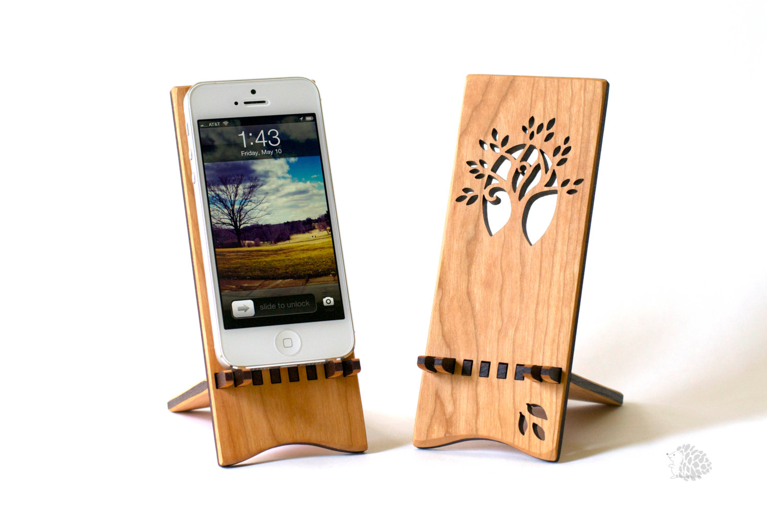 Creative handmade iphone and ipad stands style motivation